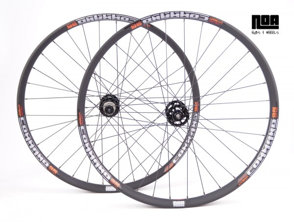 """NOA COMMAND 35 Hybrid/E-Bike/Pedelec Laufradsatz 27,5 """" mit Noa BL Evo Naben"""
