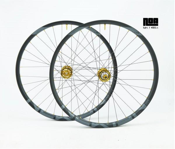 Newmen Laufradsatz EG/E.G 35 mit Noa EVO DH Boost Naben 1