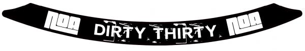 NOA Dirty Thirty Decal/Felgenaufkleber