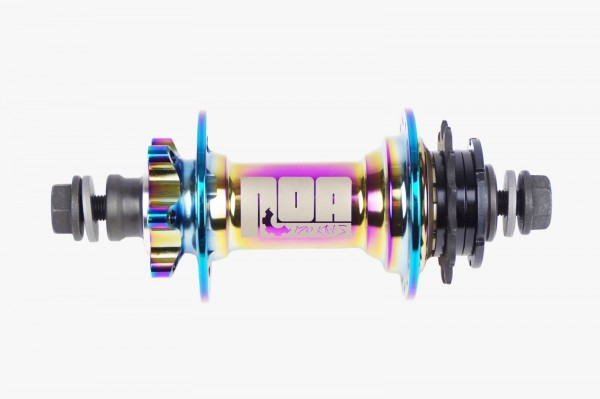 NOA 120 klicks Singlespeed Nabe oil slick