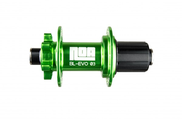 NOA BL-EVO 03 Hinterrad Nabe grün