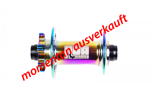 NOA 120 klicks Vorderrad Nabe Boost - oil slick