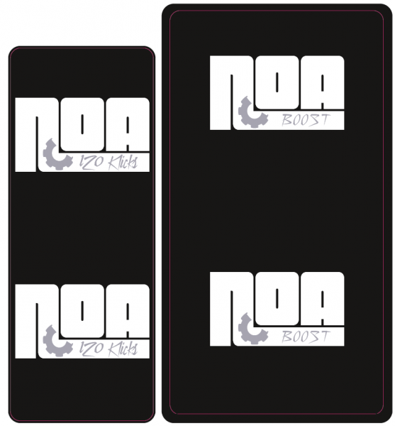NOA 120 Klicks Naben Decal/Aufkleber