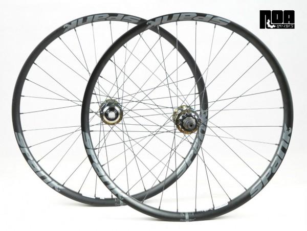 NOA 120 klicks Singlespeed Laufradsatz / Spank Spike 33