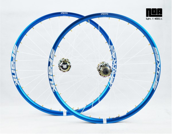 NOA 120 klicks Singlespeed Laufradsatz / Spank Spike 28