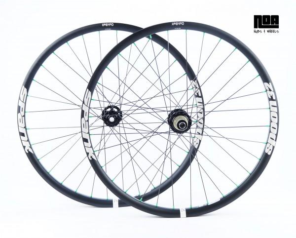NOA 120 klicks Laufradsatz / Spank Spoon 32