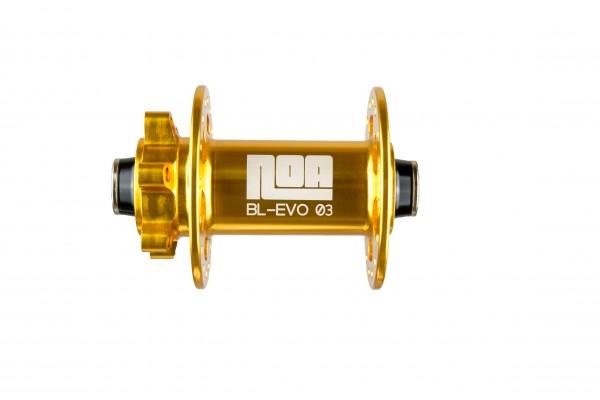 NOA BL-EVO 03 Vorderrad Nabe gold