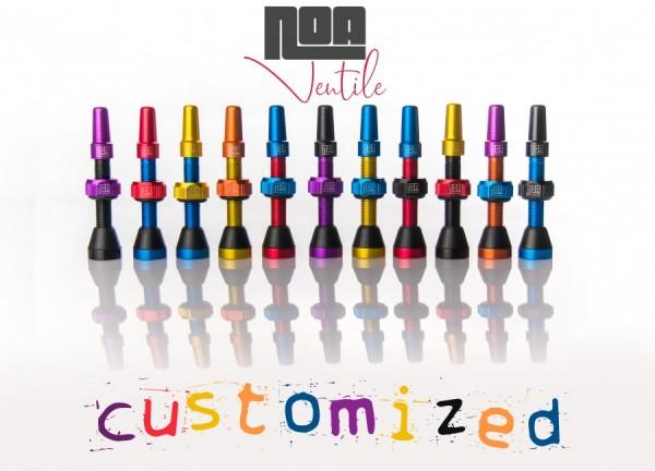 """NOA Tubeless-Ventile """"Custom-colour"""""""