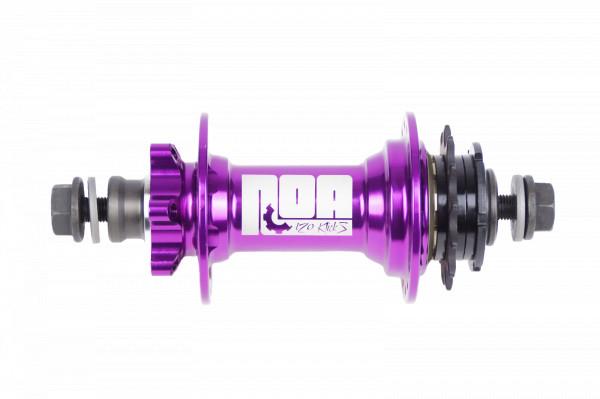 NOA 120 klicks Singlespeed Nabe purple