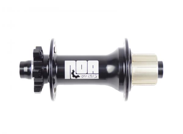 NOA 120 klicks DH Hinterrad Nabe SSP 150/157/12mm - schwarz